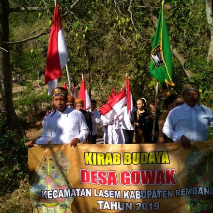 Menghormati pejuang dengan Kirab Budaya Desa Gowak 2019